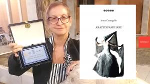 """Premio Internazionale """"La donna si Racconta"""": menzione d'onore per Anna Cantagallo"""